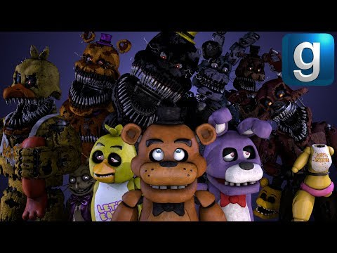 Gmod FNAF   The Nightmares Attack! [Part 1]