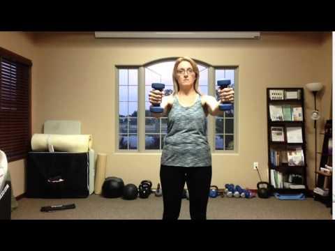 Shoulders: Scaption Shrugs
