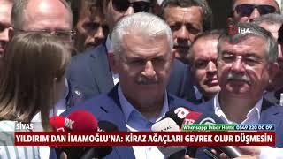 """Binali Yıldırım& 39 dan İmamoğlu& 39 na """"Kiraz ağaçları gevrek olur düşmesin"""""""