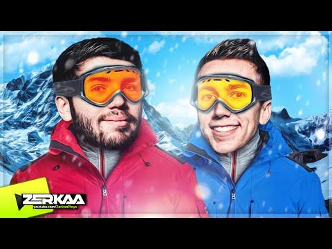 JOSH AND SIMON GO SKIING! (SNOW)