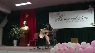 cô gái đến từ hôm qua cover - clb guitar DHSP HN