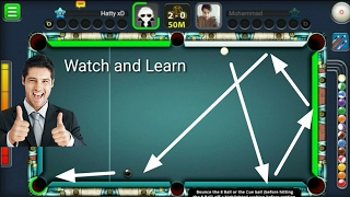 How to do trickshot ? Watch and Learn  - Giveaway Winner 3/13 - 8 Ball Pool