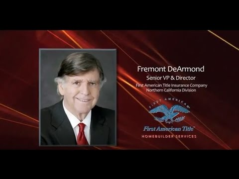 2012 Hall Of Fame: Fremont DeArmond, First American Title Insurance Company