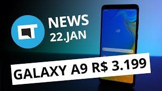 Galaxy A9 com 4 câmeras no Brasil; Amazon chega de vez ao Brasil e + [CT News]