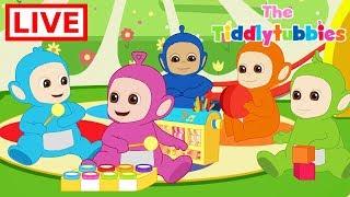 🔴LIVE Teletubbies ★ Tiddlytubbies ★ Dessin Animé ★ Nouvel épisode1-3 ★ Dessins animés pour enfants