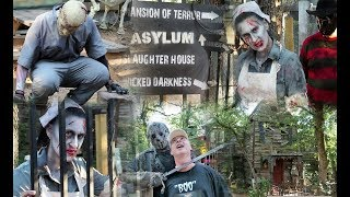 🎃 Coolest Halloween Experience Ever! 🎃 Scream Hollow Wicked Halloween Park - Part 2