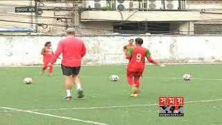 ঈদের শুভেচ্ছা জানালেন নারী ফুটবল দলের কোচিং স্টাফরা | BD Women Football