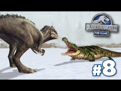 INDOMINUS REX Vs GLACIER BEASTS! || Jurassic World - Cenozoic Series - Ep8 HD