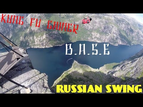 dc24842bc091 Base jumping   russian swing shenanigans + kung fu gainers - YouTube