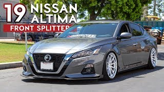 homepage tile video photo for 2019 Nissan Altima STILLEN Front Splitter