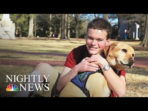 Inspiring America: Jory, American Rhodes Scholar With Autism, To Study At Oxford   NBC Nightly News