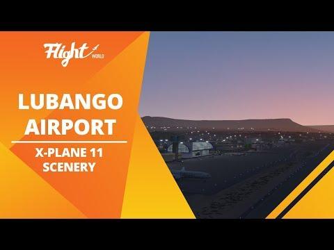 Lubango Airport | FNUB | X-Plane 11 Scenery