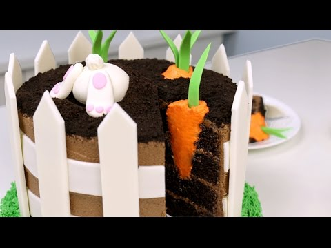 Amazing Easter Bunny Cake With A Surprise Inside Youtube