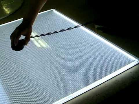Led All Side Lighting Panel Mp4 Youtube