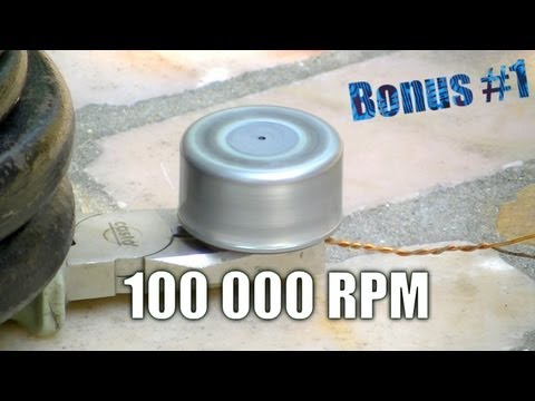 Rotation ultra rapide - 100000 RPM !