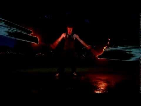 [1080p Fire poi music video]Sub Focus - Falling Down (xKore Remix)