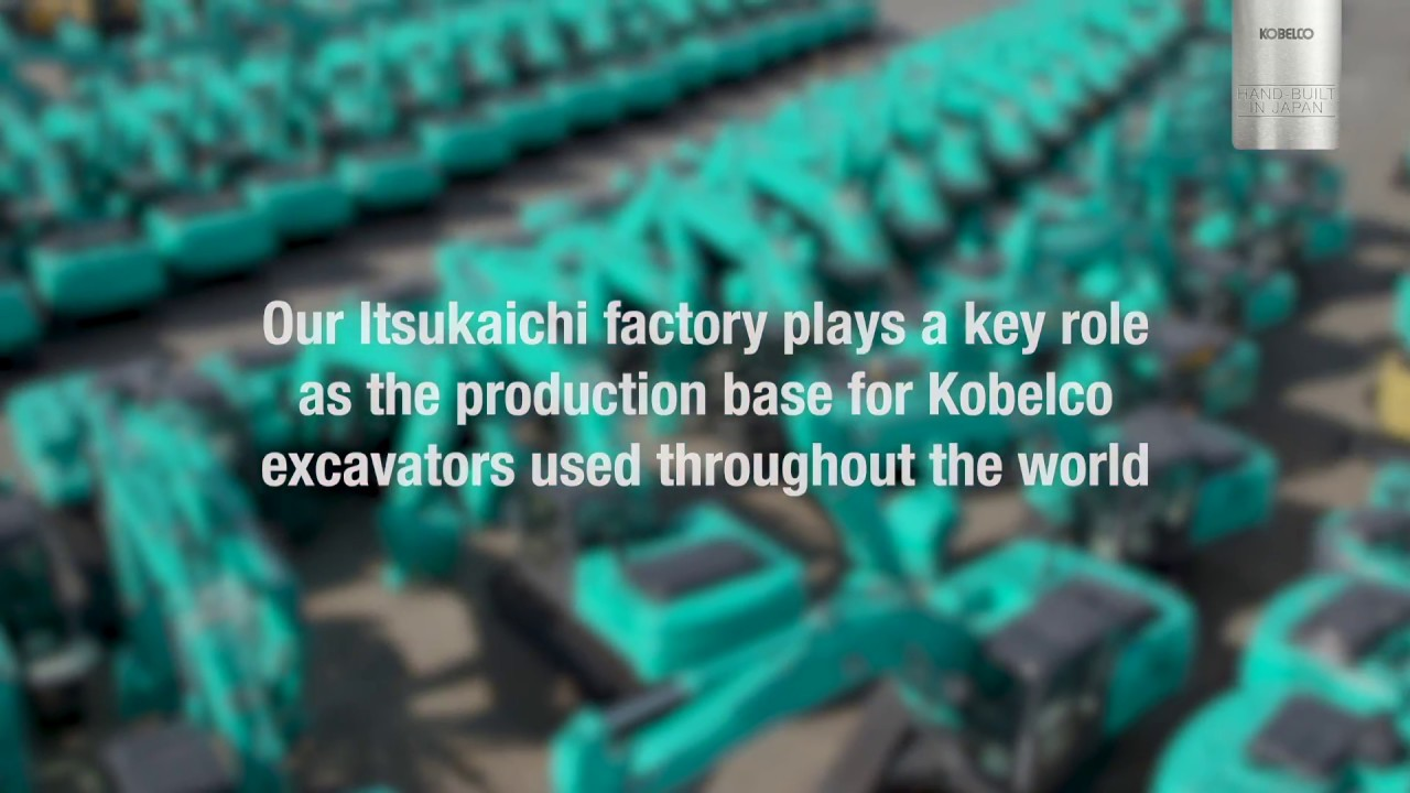 Hand-built in Japan - Kobelco Factory Tour