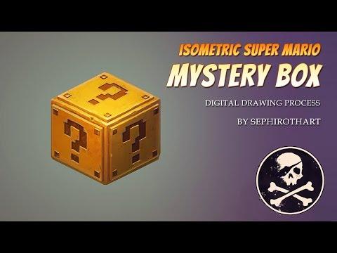 Fan Art #2 | by Sephiroth Art | Isometric Mario Box