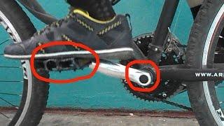 Скрип, хруст и стучит в педалях и каретке велосипеда, как устранить.(Мой ВК https://vk.com/id263241899 Полезные видео с моего канала, о ремонте велосипеда. 1) Задняя втулка колеса обслуживан..., 2014-09-29T18:57:32.000Z)