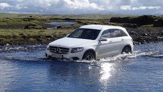 Mercedes GLC Offroad Iceland, river crossing, gravel roads, beach(, 2016-09-11T08:47:16.000Z)