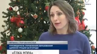 В Белгороде дан старт традиционным ёлкам мэра