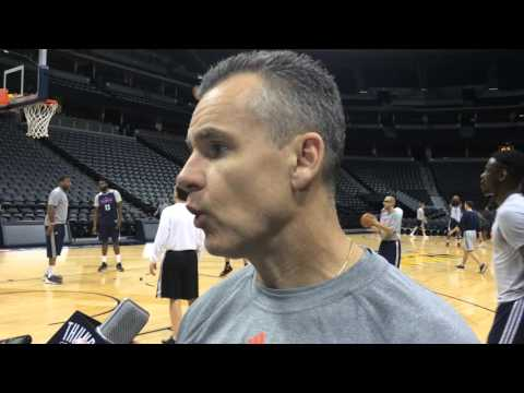 Donovan: Shootaround in Denver - April 5, 2016