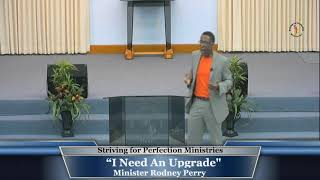 "31 May 20,  ""I Need an Upgrade"" Min R. Perry"