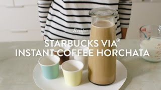 Starbucks VIA Instant Coffee Horchata