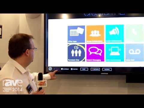 ISE 2014: Crestron Talks About Its RL Video Collaboration System for Microsoft Lync