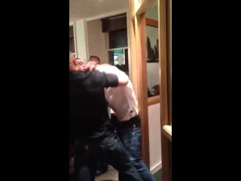 Kirkwall, Orkney Scotland bar fight at Skippers