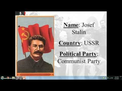 McKay Chapter 26 Part Six Stalin by Mr. Oliver