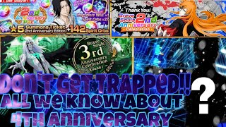 (Must Watch) Everything we need to know about 4 Anniversary! Choose a 6*| Bleach Brave Souls