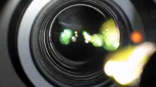 Nikon VR (Vibration Reduction) In Action, In-lens View