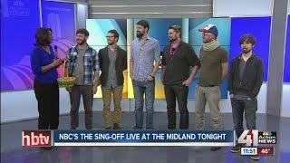 """NBC's """"The Sing-Off"""" live at The Midland on Friday"""