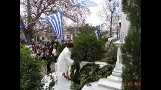 Εορτασμός 25ης Μαρτίου 2013, Νέα Μάδυτος