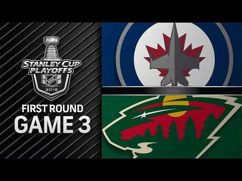 Winnipeg Jets vs Minnesota Wild – Apr. 15, 2018 | Game 3 | Stanley Cup 2018. Обзор