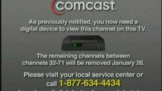 Comcast Cable Glitchy - YT