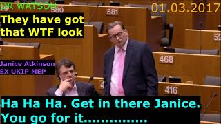 BRITISH MEP (ATKINSON) TELLS EU - WE WILL CHOOSE FINEST CITIZENS FROM INDIA, CHINA – NOT FROM EU