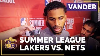 Lakers Summer League: Vander Blue On 27 Point Game, Chemistry With Lonzo Ball