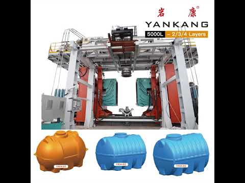Yankang Automatic Extrusion Water Tank Blow Molding Machine Application Display