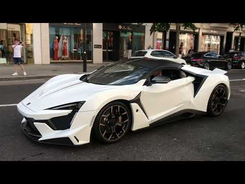 $2.5 MILLION Arab Fenyr Supersport In London.