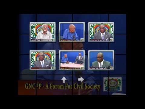 """GNCPP """"A FORUM FOR CIVIL SOCIETY"""" CONVERSATION ON  THE GUYANA  CONSTITUTION"""