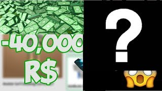 ROBLOX ENVATERM HOW MANY ROBUX OUT /OHA 40,000 ROBUX INVENTORY OMG