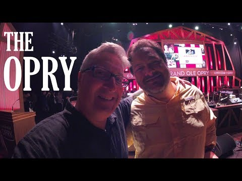KEN HERON - Backstage at The Grand Ole OPRY  [With Diamond Rio]