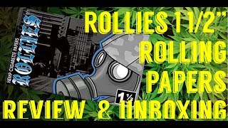 4K ROLLIES 1 1/2 ROLLING PAPERS REVIEW & UNBOXING #FullMeltFusion