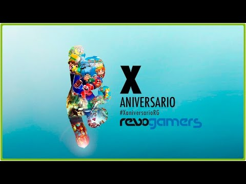 REVOGAMERS.NET CUMPLE 10 AÑOS | Jota Delgado