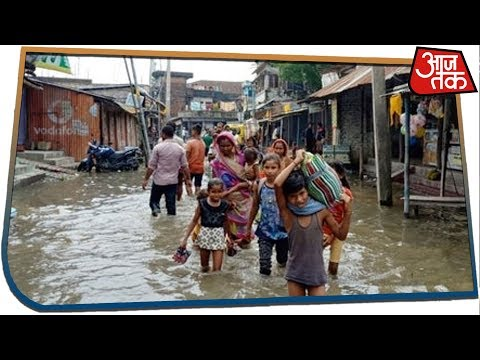 Heavy Rainfall In Bihar; Rivers Pose Flood Threat To Many Districts