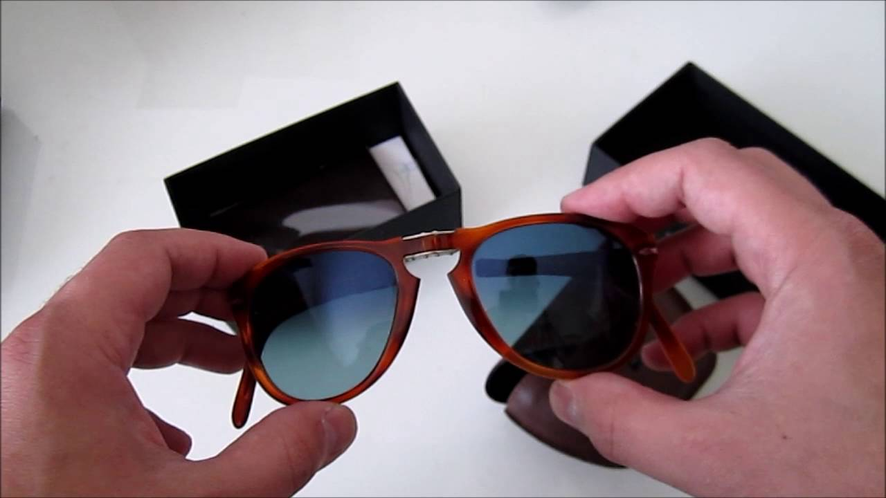 28844e51a77 Persol 714 Steve McQueen - Special Edition Sunglasses Unboxing - YouTube