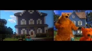 Bear in the Big Blue House: Intro Comparison (Original vs. Minecraft)