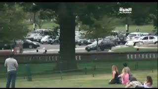 Washington DC car chase: suspect shot dead after Capitol Hill lockdown